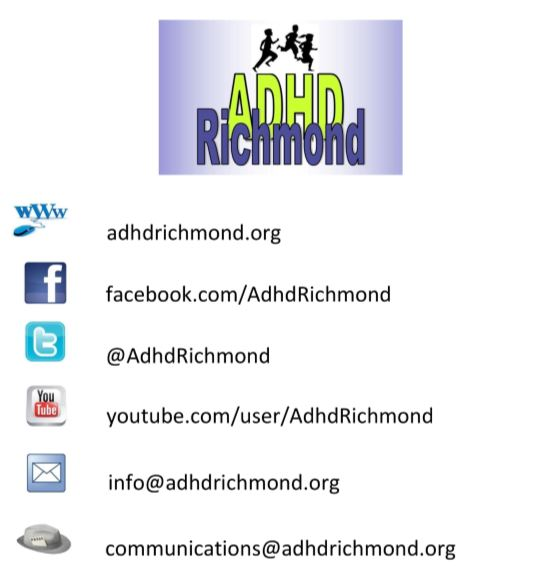 ADHD Richmond contact flyer