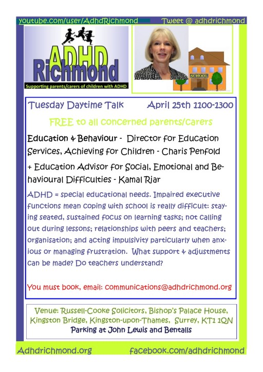April 25 Tues Talk