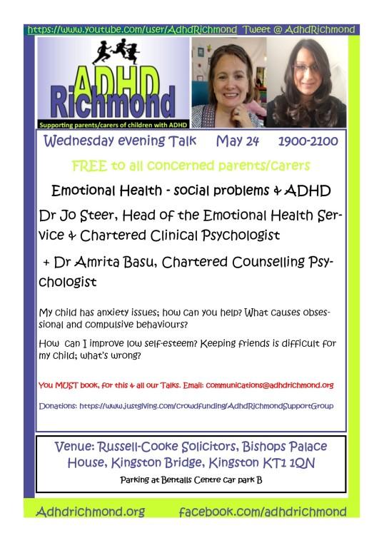 May 24 eve talk