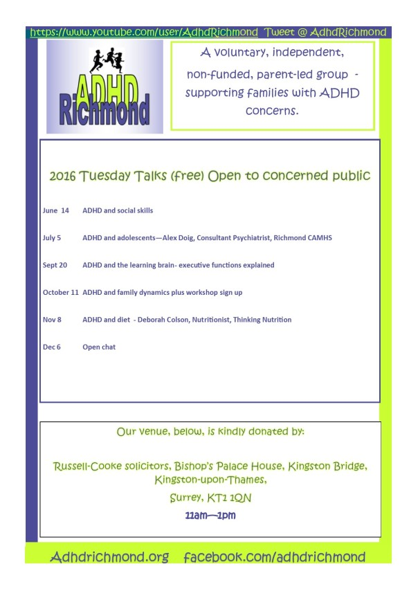 Tues Talks 2016