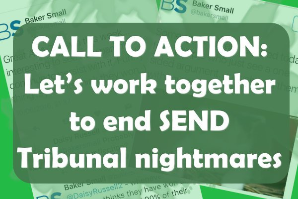 . @SpcialNdsJungle CALL TO ACTION: stop #SEND Tribunal nightmares