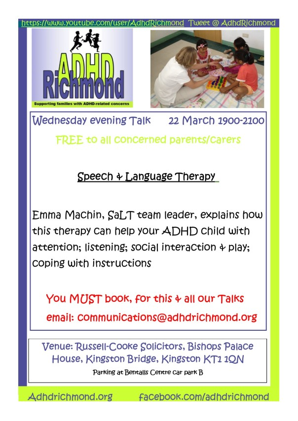 March 22 eve talk