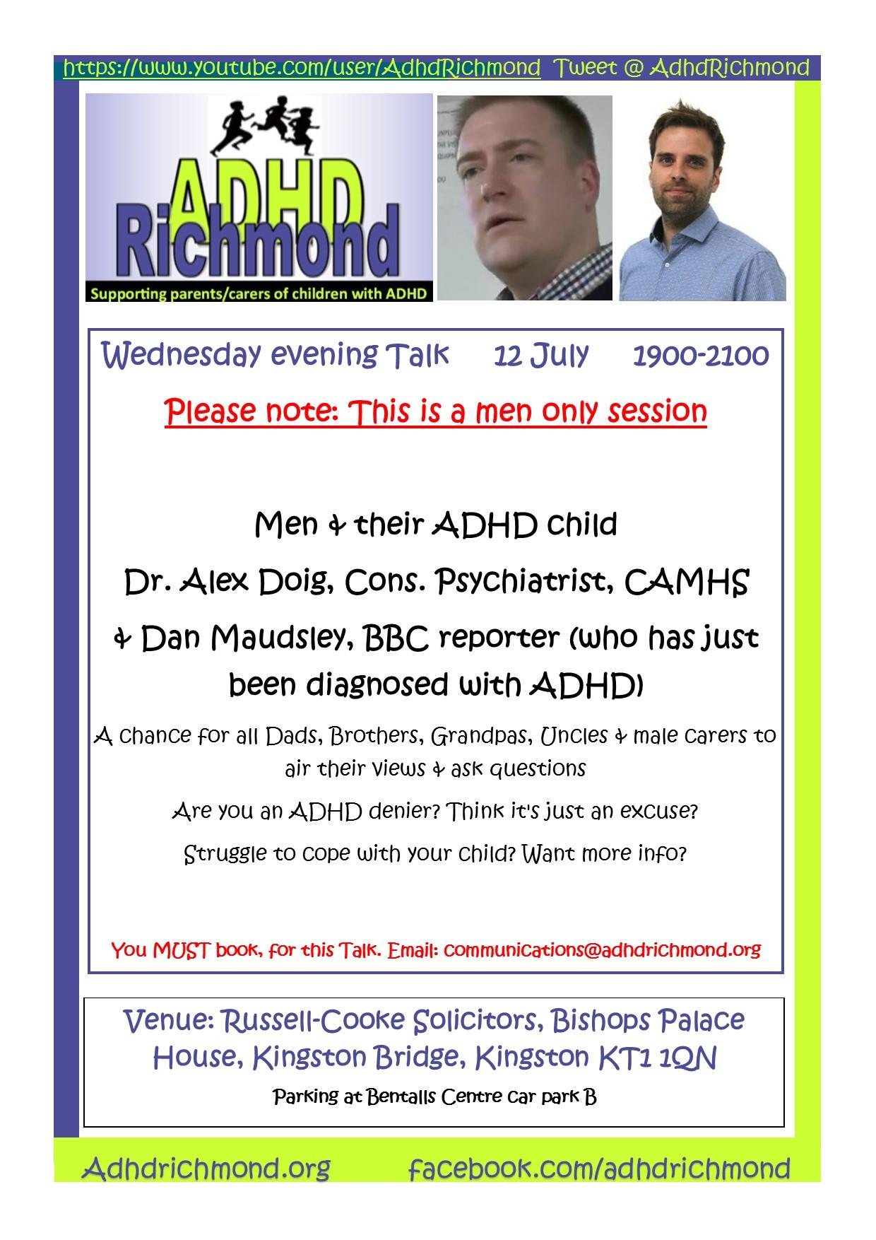 July 12 eve Talk