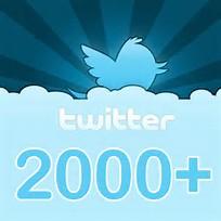 Thank u to our 2000 #Twitter followers @AdhdRichmond#ADHD