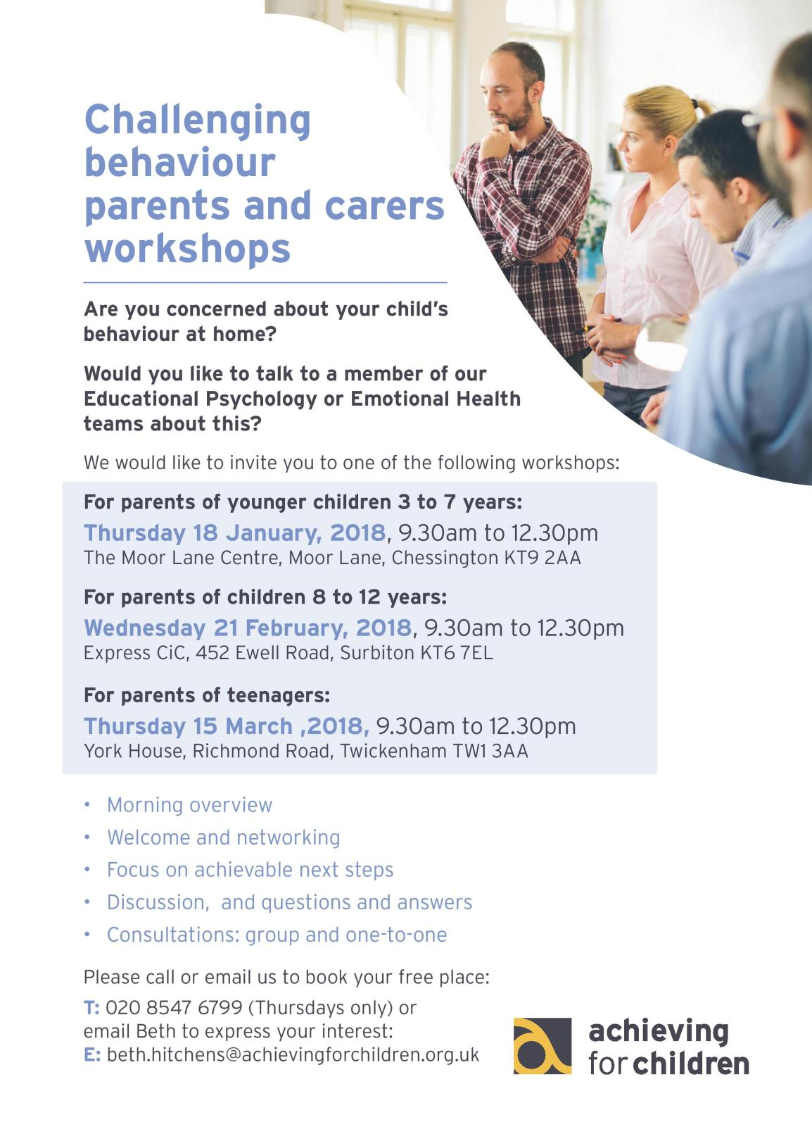 Challenging behaviour workshop poster 11 Dec-page-001