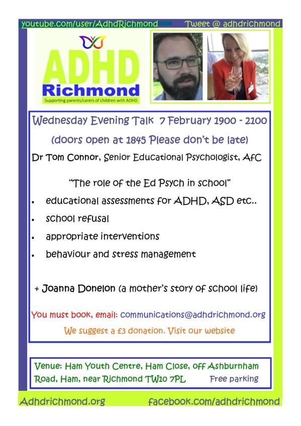 Feb 7 Talk - wed eve
