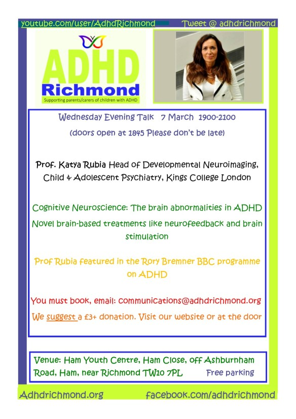 March 7 Wed eve talk