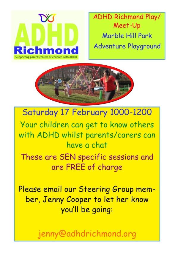 Play Meet Up flyer 17 feb