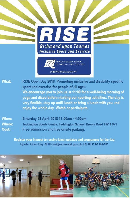 RISE Open Day 28 April 2018
