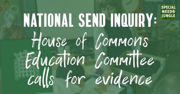 The @HouseofCommons #Education Committee launches inquiry into support for children and young people with#SEND