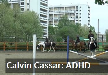 Alone and dealing with #ADHD Calvin Cassar goton a horse to deal with his issues @EbonyHorseClub ‏ via @Telegraph