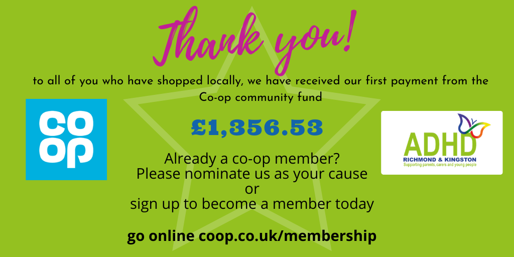 Coop community payment thank you April 2020